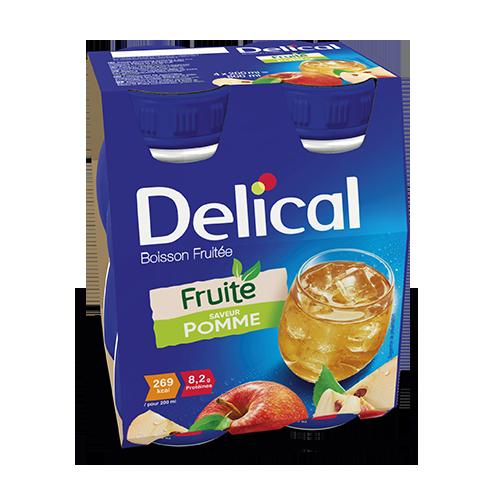 Image DELICAL BOISSON FRUITEE Nutriment pomme 4Bouteilles/200ml