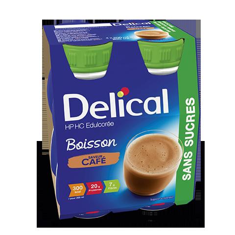 Image DELICAL BOISSON HP HC SANS SUCRES Nutriment café 4Bouteilles/200ml