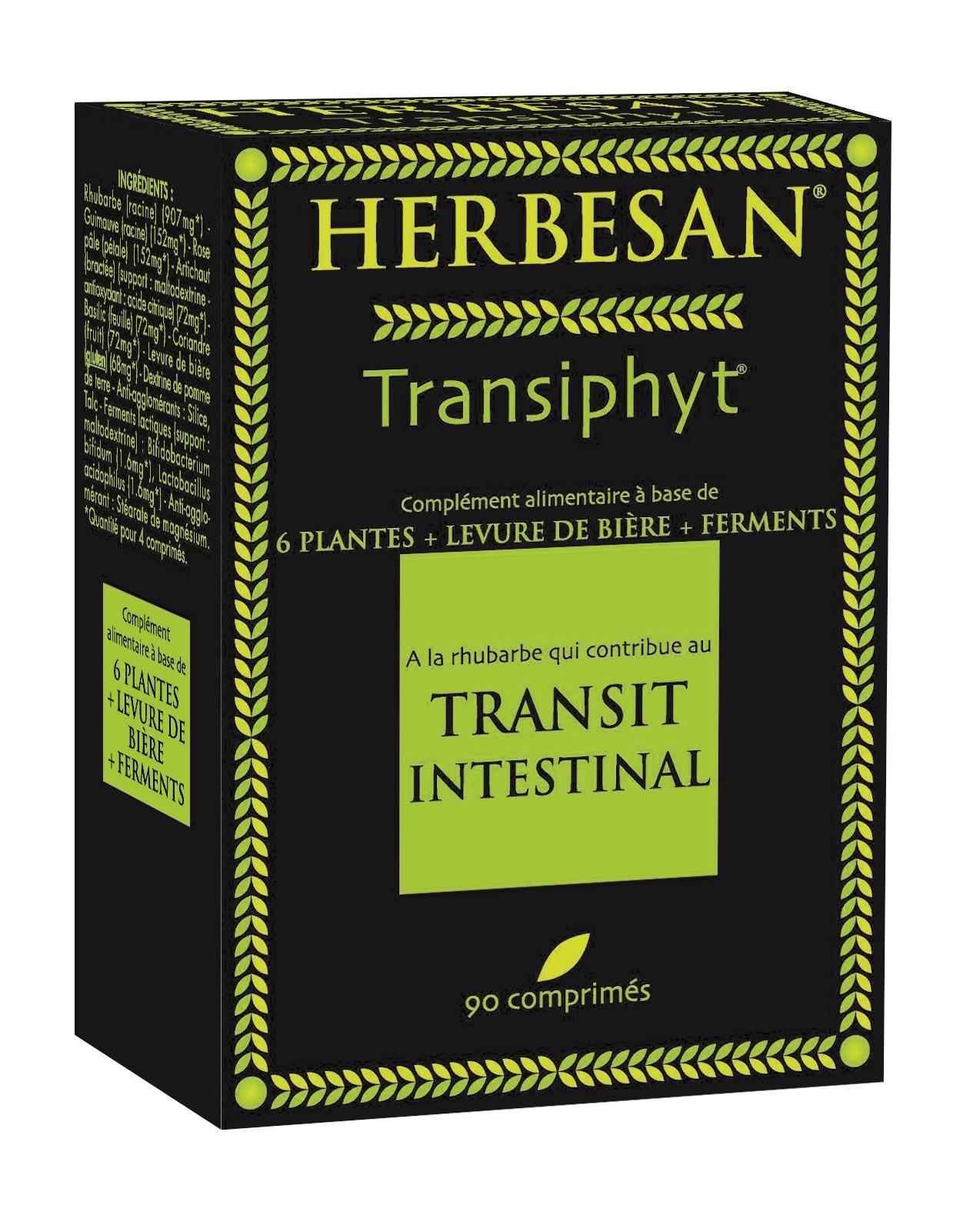 Image HERBESAN TRANSIPHYT Cpr favorise le transit B/90