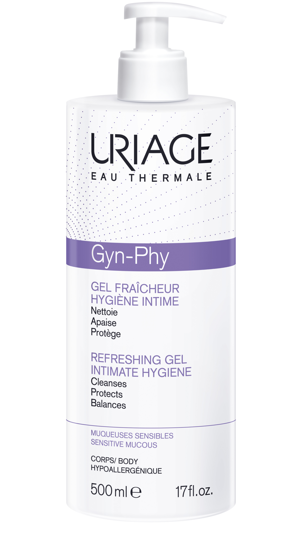 Image URIAGE GYN-PHY Gel moussant hygiène intime Fl pompe/500ml