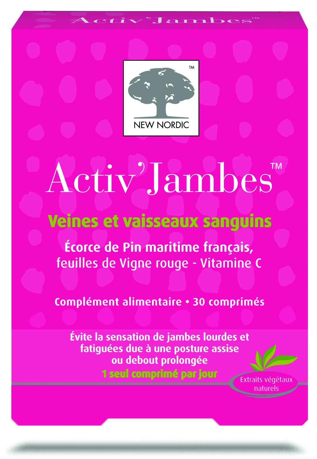 Image ACTIV'JAMBES Cpr circulation veineuse B/30