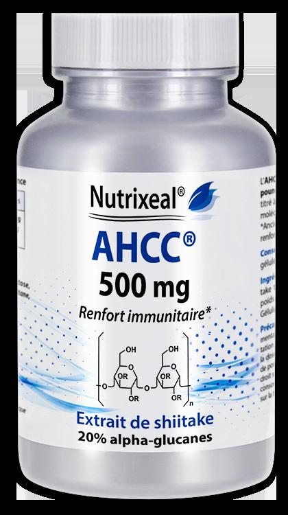 Image NUTRIXEAL AHCC Shiitake a-glucanes Gél Fl/60
