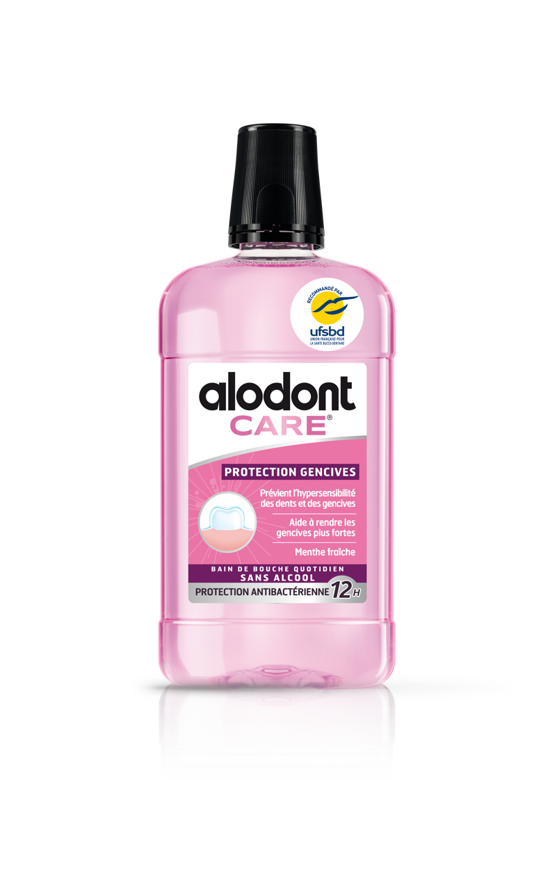 Image ALODONT CARE PROTECTION GENCIVES S bain bouche quotidien Fl/500ml