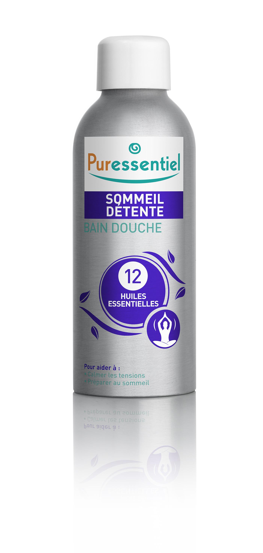 Image PURESSENTIEL SOMMEIL DETENTE Bain douche 12 huiles essentielles Fl/100ml