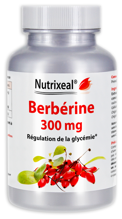 Image NUTRIXEAL Berbérine Gél Fl/60
