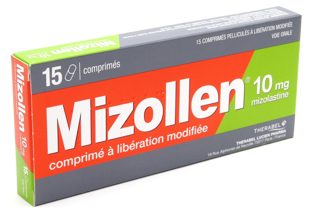 Image MIZOLLEN 10 mg Cpr LM Plq/15