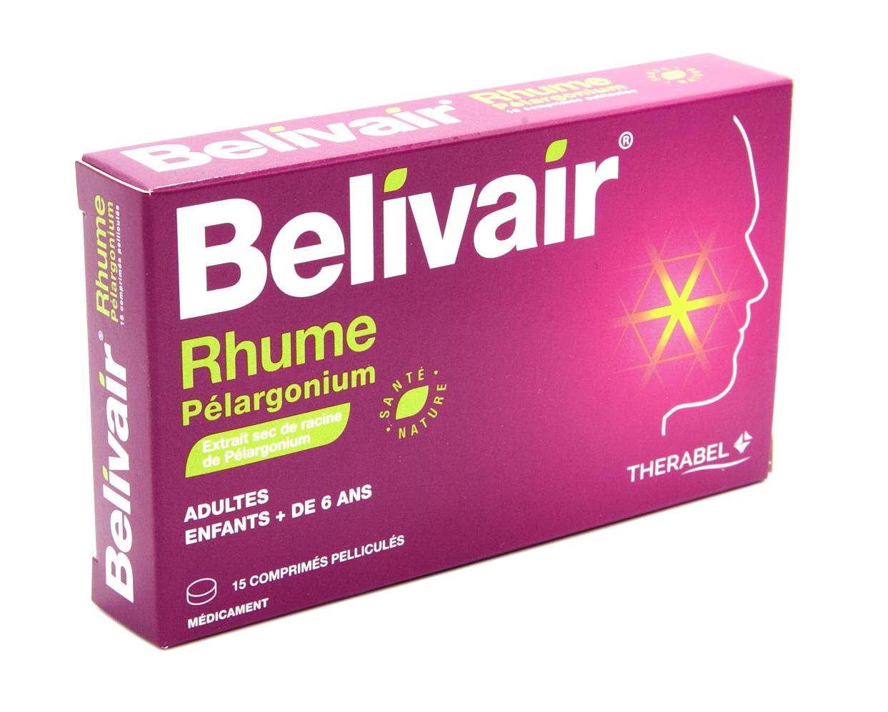 VIDAL - BELIVAIR RHUME PELARGONIUM cp pellic - Synthèse