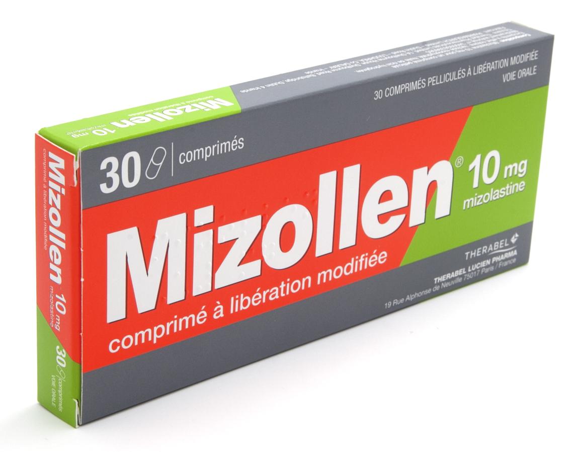 Image MIZOLLEN 10 mg Cpr LM Plaq/30