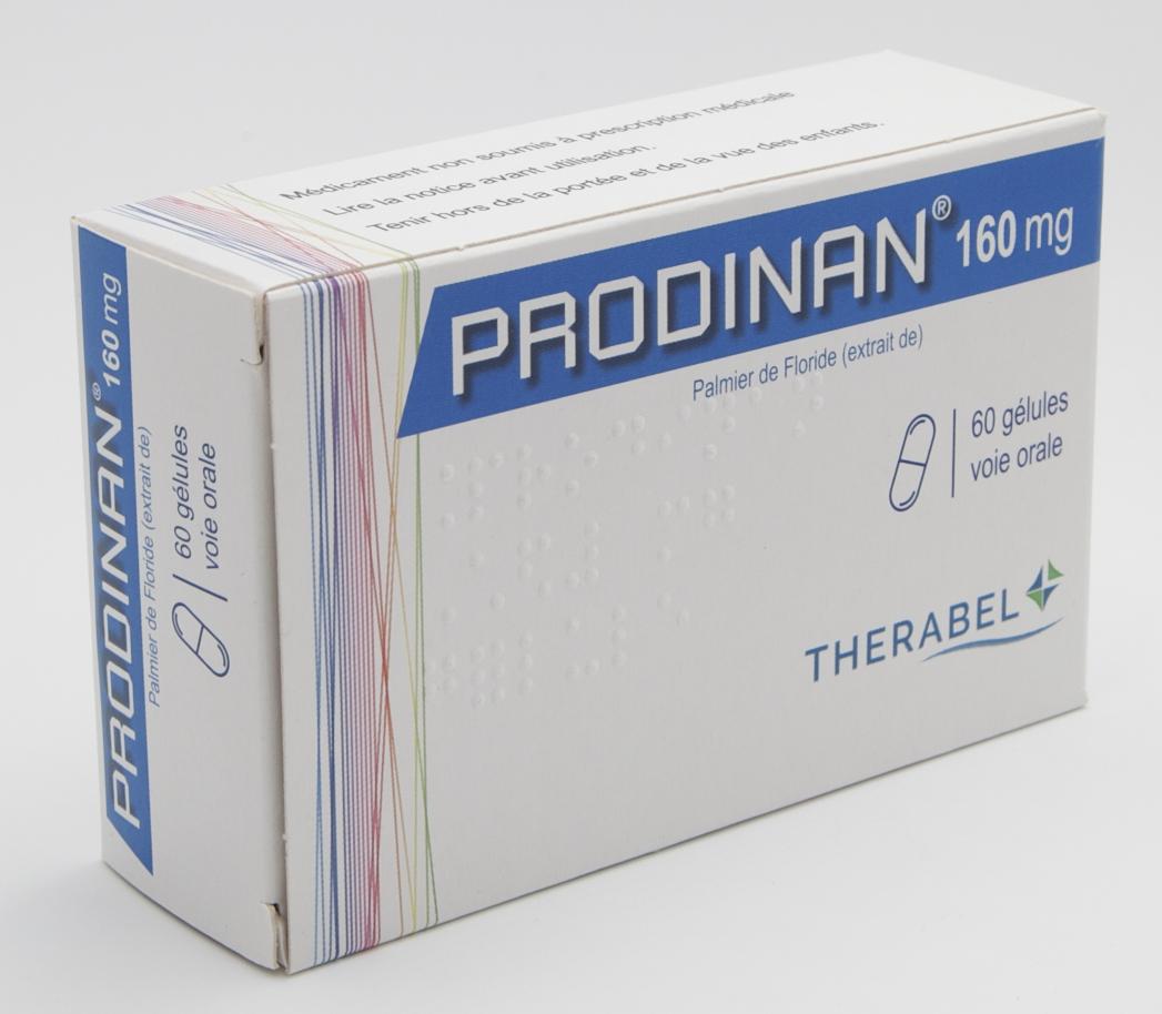 Image PRODINAN 160 mg Gél Plq/60