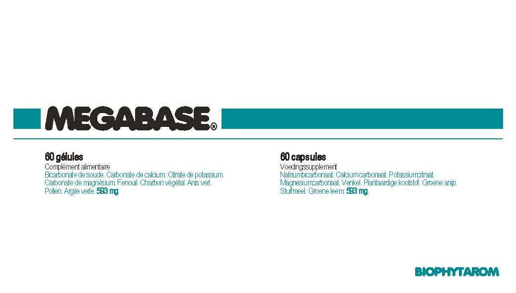Image MEGABASE Gél B/60