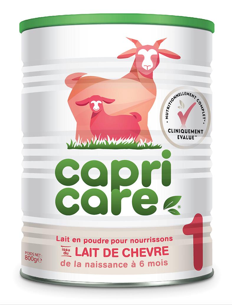 Image CAPRICARE 1ER AGE Lait pdre de chèvre entier B/800g