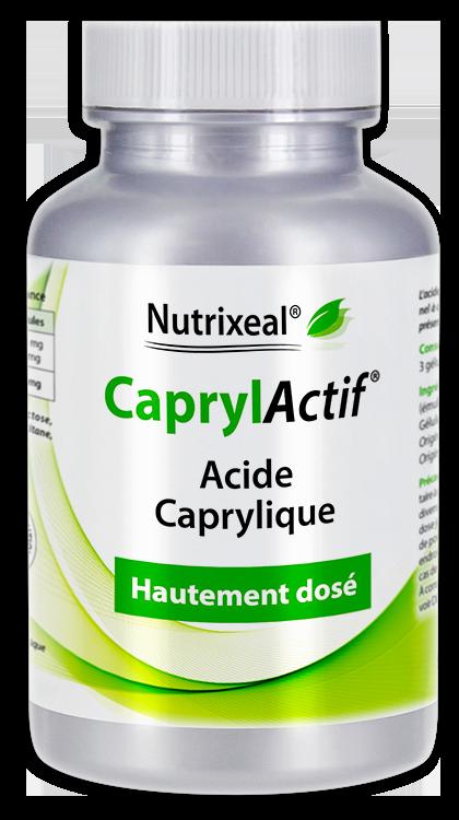 Image NUTRIXEAL CAPRYLACTIF Acide caprylique Gél Fl/90