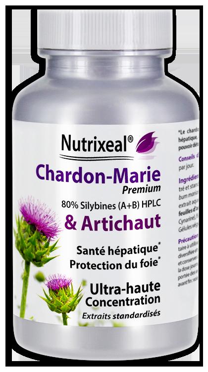 Image NUTRIXEAL Chardon marie Artichaut Gél Fl/60