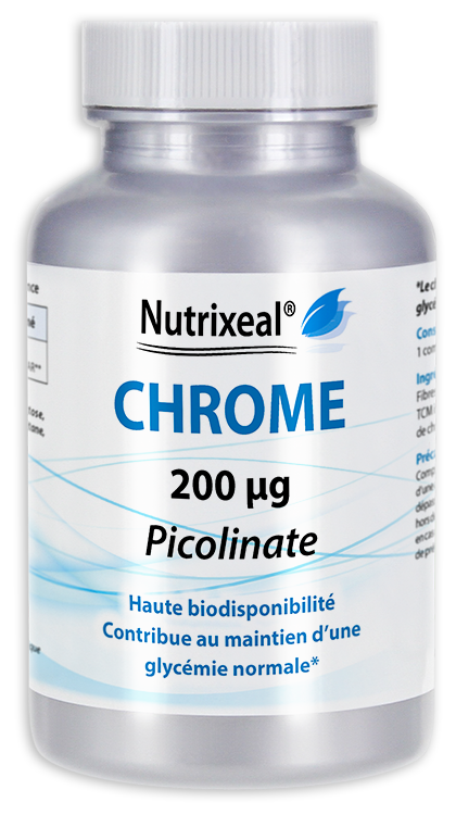 Image NUTRIXEAL Chrome Picolinate Cpr Fl/90