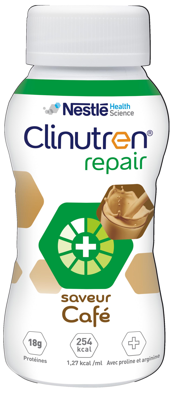 Image CLINUTREN REPAIR Nutriment café 4Bouteilles/200ml