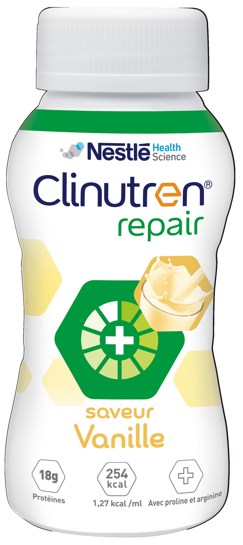 Image CLINUTREN REPAIR Nutriment vanille 4Bouteilles/200ml