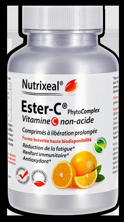 Image NUTRIXEAL ESTER-C PhytoComplex Vitamine C Cpr Fl/100