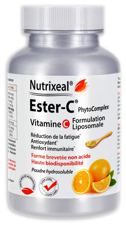 Image NUTRIXEAL ESTER-C PhytoComplex Vitamine C Pdr Pot/100g