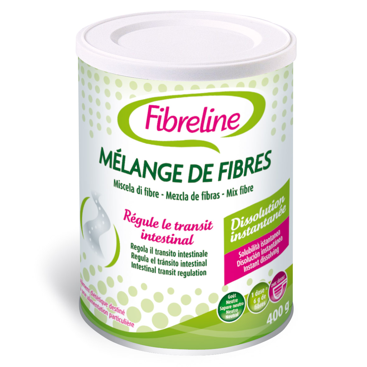 Image FIBRELINE Fibres Pdr or B/400g