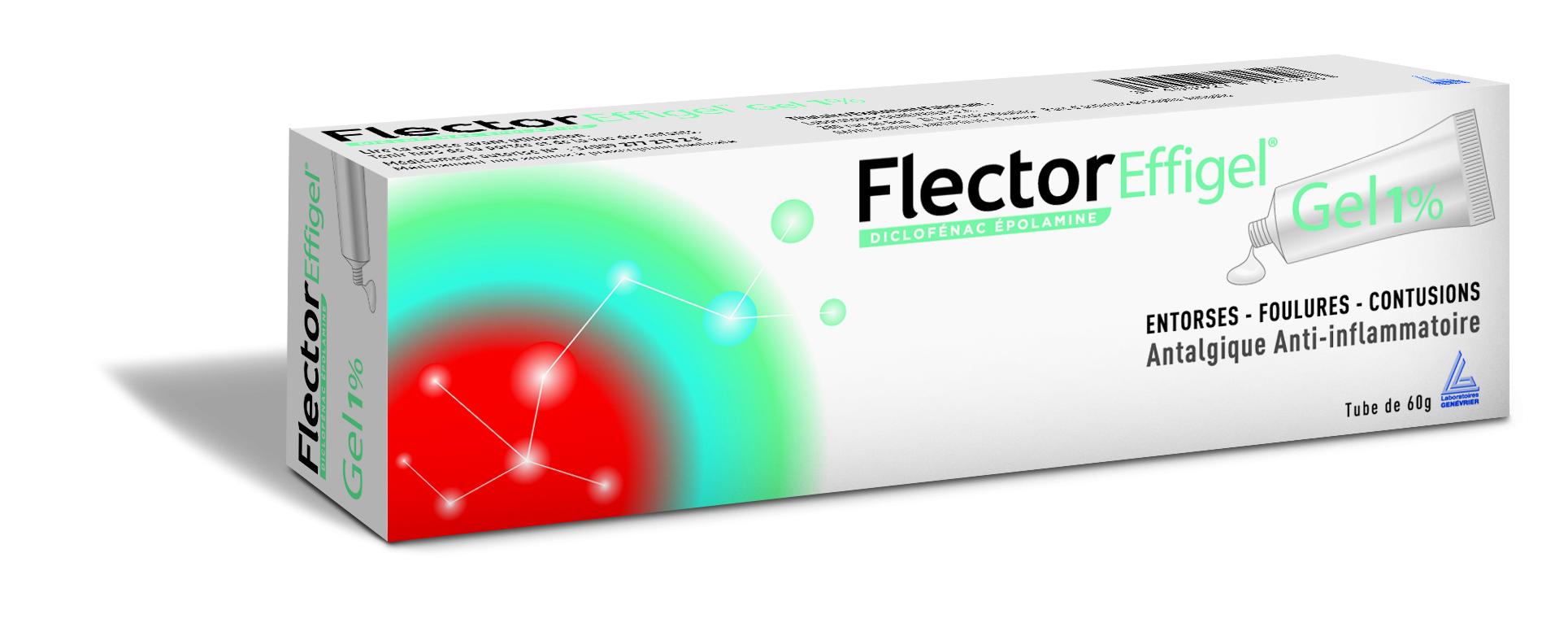 Image FLECTOREFFIGEL 1 % Gel T/60g