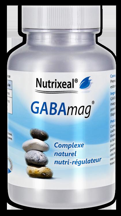 Image NUTRIXEAL GABAMAG GABA Acide gamma amino butyrique Gél Fl/30