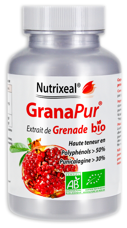 Image NUTRIXEAL GRANAPUR BIO Grenade Punicalagine Gél Fl/60