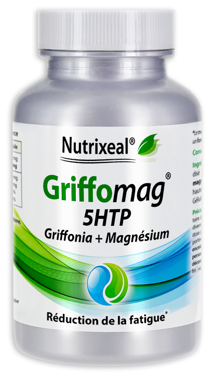 Image NUTRIXEAL GRIFFOMAG 5HTP Griffonia Gél Fl/60