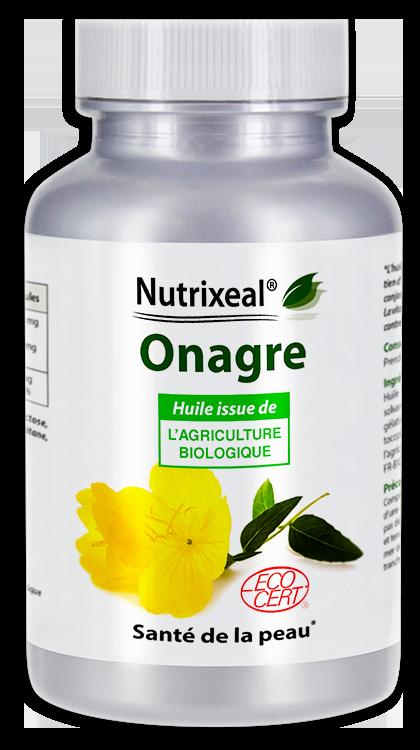 Image NUTRIXEAL Onagre huile Bio Gél Fl/200