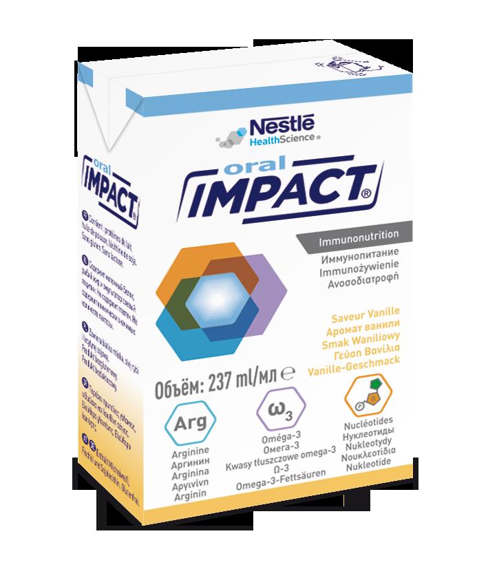 Image ORAL IMPACT PRÊT A BOIRE nutriment vanille
