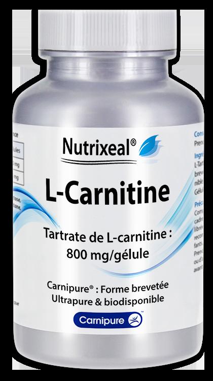 Image NUTRIXEAL L-Carnitine Gél Fl/30