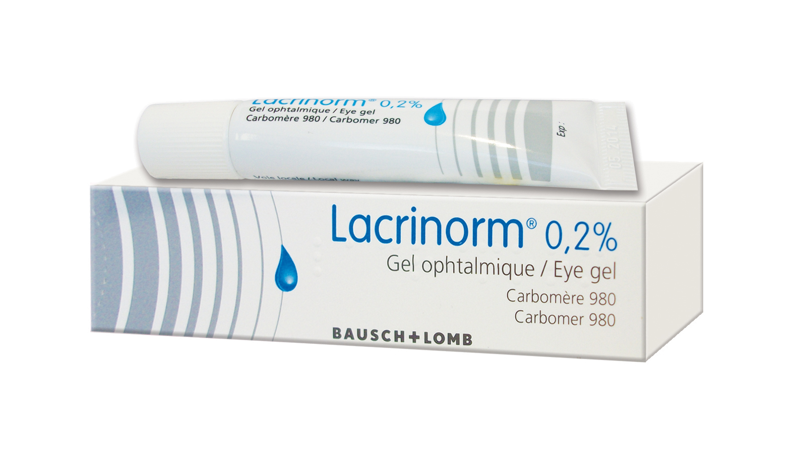 Image LACRINORM 0,2 % Gel ophtalm T/10g