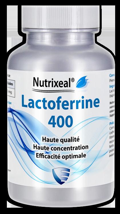 Image NUTRIXEAL Lactoferrine 400 Gél Fl/30