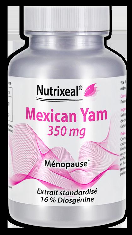 Image NUTRIXEAL Mexican Yam Diosgénine Gél Fl/60