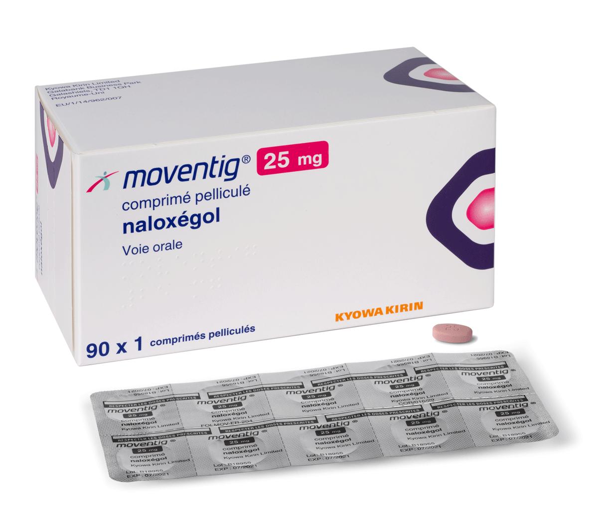 Image MOVENTIG 25 mg Cpr pell Plq/90x1