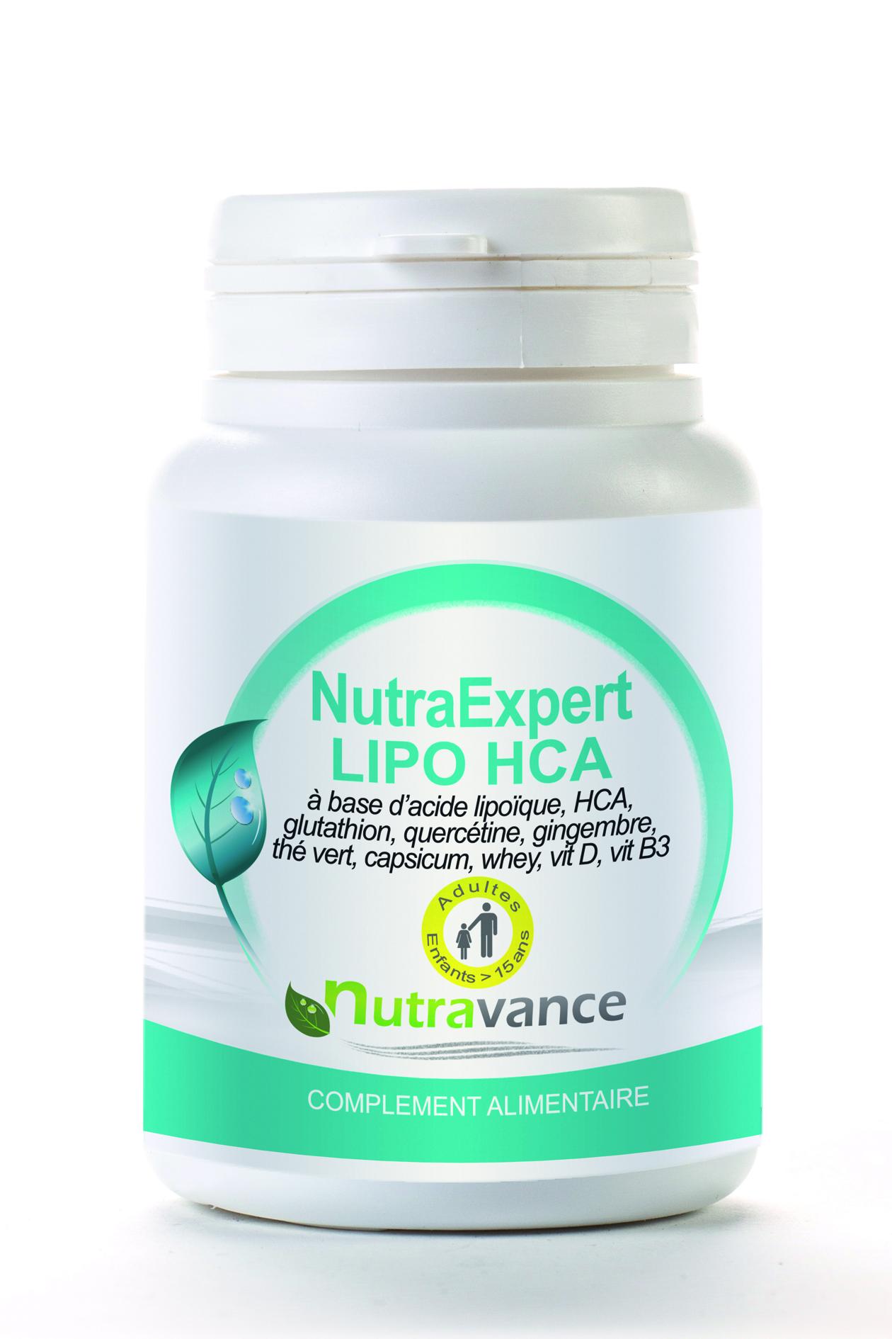 Image NUTRAEXPERT LIPO HCA Cpr Pilulier/90