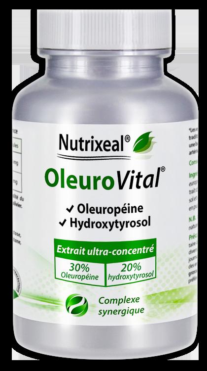 Image NUTRIXEAL OLEUROVITAL Oleuropéine Gél Fl/60