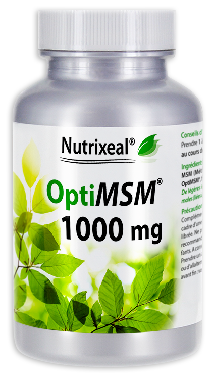 Image NUTRIXEAL OPTIMSM 1000 mg Cpr Fl/90