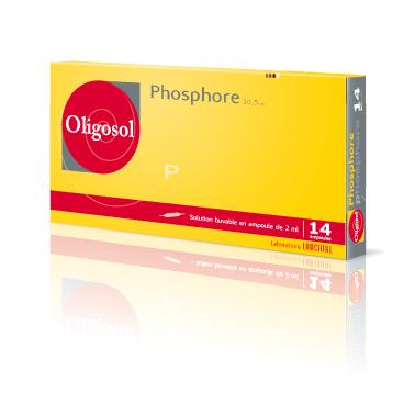 Image OLIGOSOL Phosphore S buv en ampoule 14Amp/2ml
