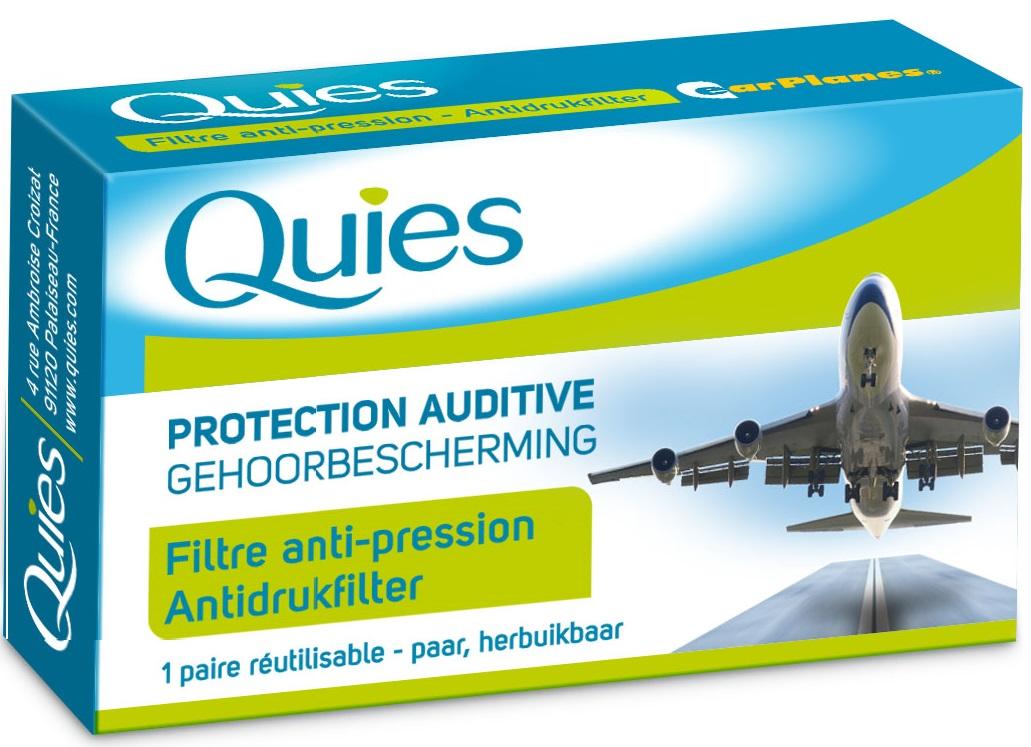 Image QUIES Protection auditive avion adulte B/2