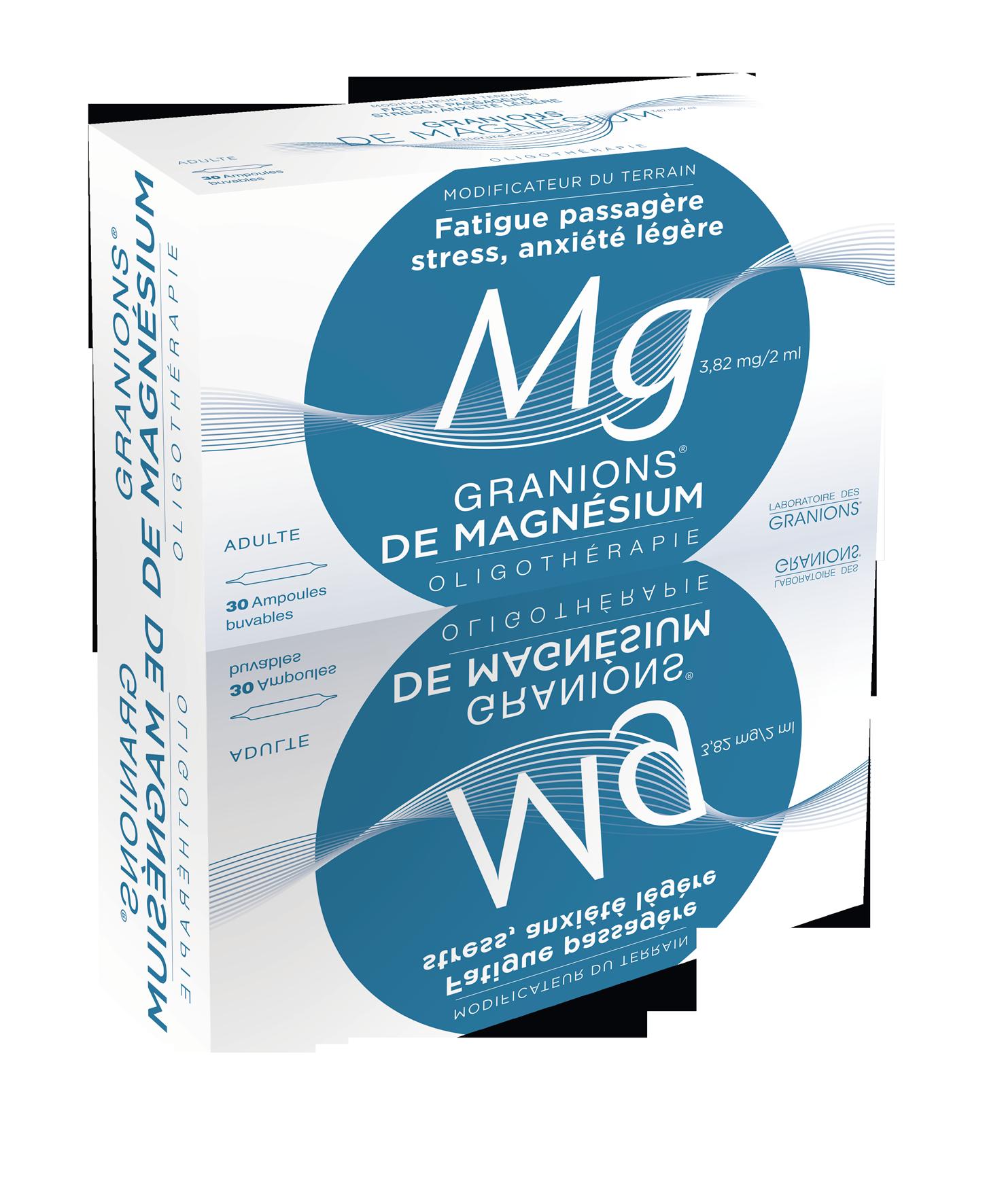 Image GRANIONS DE MAGNESIUM 3,82 mg/2 ml S buv 30Amp/2ml