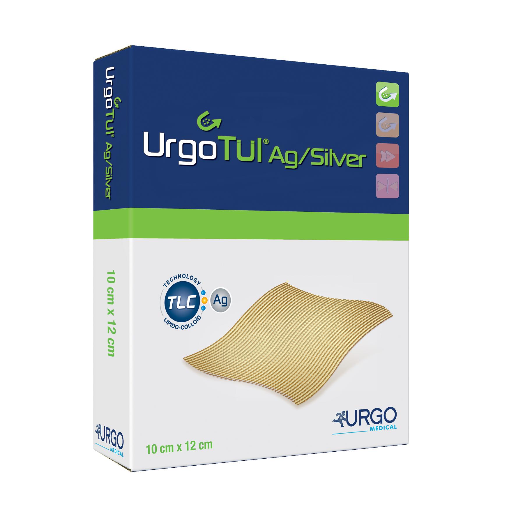 Image URGOTUL AG Pans interface antibactérien 10x12cm B/16