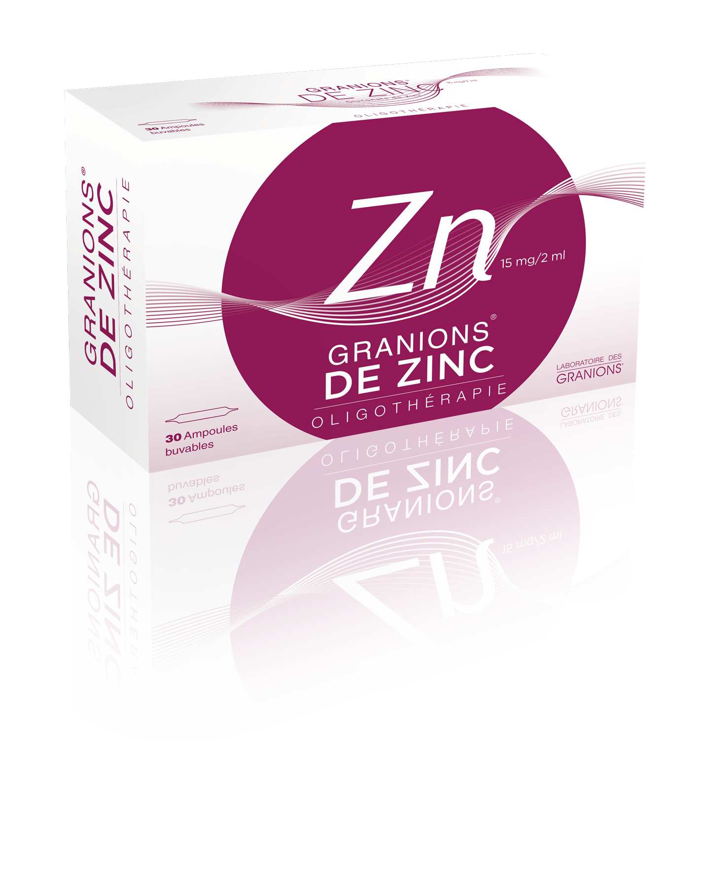Image GRANIONS DE ZINC 15 mg/2 ml S buv 30Amp/2ml