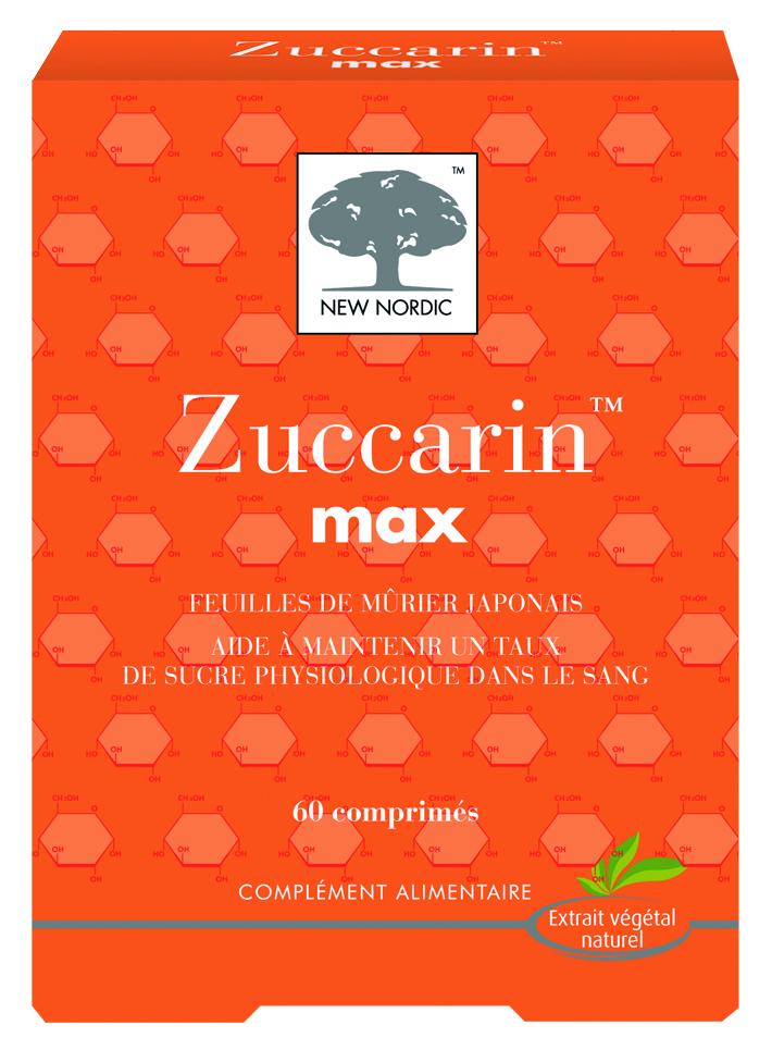 Image ZUCCARIN MAX Cpr taux de sucre dans le sang B/60