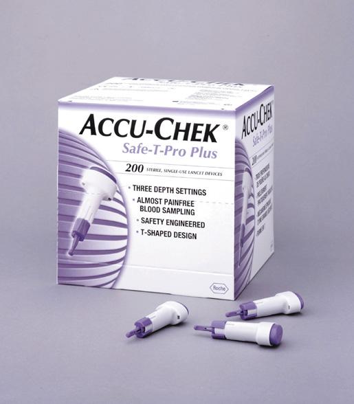 Image ACCU CHEK SAFE T PRO PLUS Lancette autopiqueur B/200