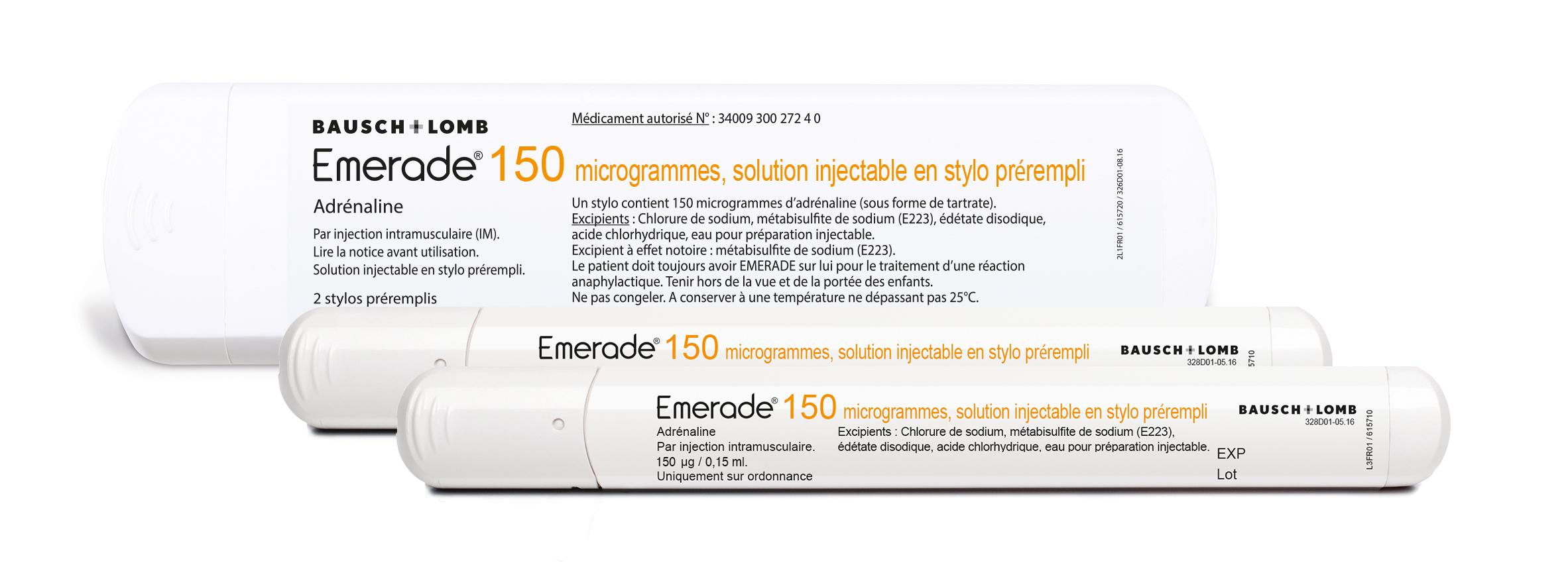 Image EMERADE Gé 150 µg S inj en stylo prérempli 2Stylo/0,15ml