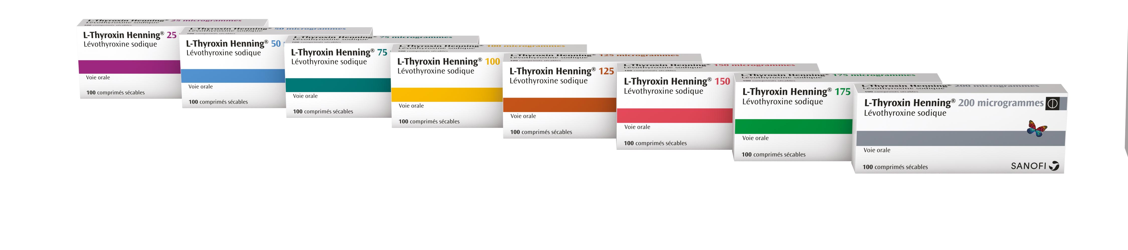 Image gamme L-THYROXIN HENNING