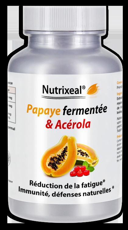 Image NUTRIXEAL Papaye fermentée Cpr Fl/150