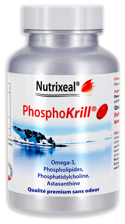 Image NUTRIXEAL PHOSPHOKRILL Huile de krill Caps molle Fl/60