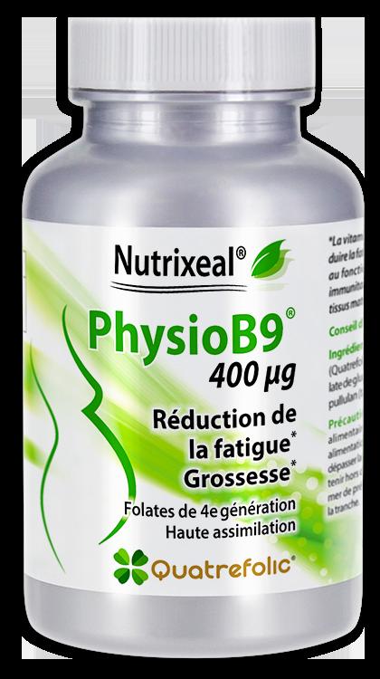 Image NUTRIXEAL PHYSIOB9 Quatrefolic Vitamine B9 Gél Fl/60
