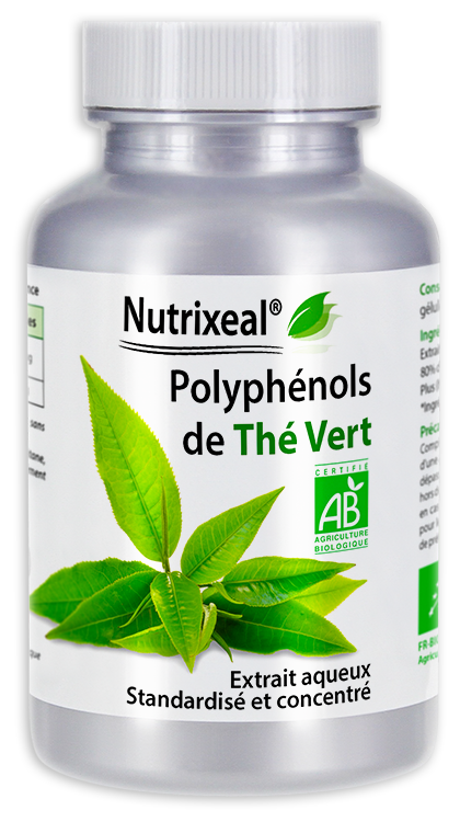Image NUTRIXEAL Polyphénols de Thé Vert Bio Gél Fl/100